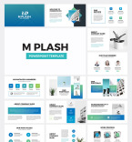 Template 78992 PowerPoint Templates