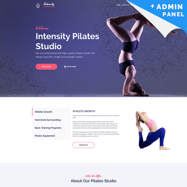 Landing Page Template # 79256