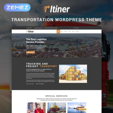 WordPress Theme # 79350