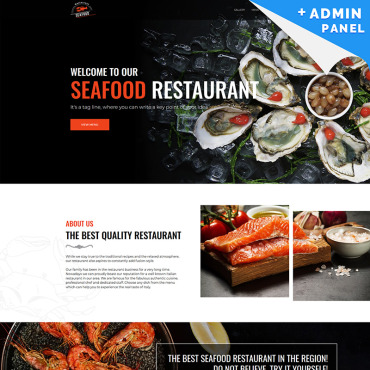 Landing Page Template # 79399