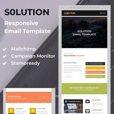 Newsletter Template # 79630