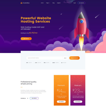 WordPress Theme # 79733