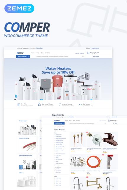 Tema para woocommerce - Categoría: Transportes - versión para Desktop
