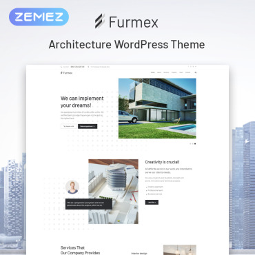 WordPress Theme # 79925