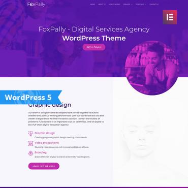 WordPress Theme # 80056