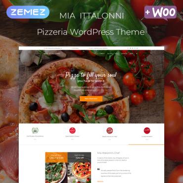WordPress Theme # 80269