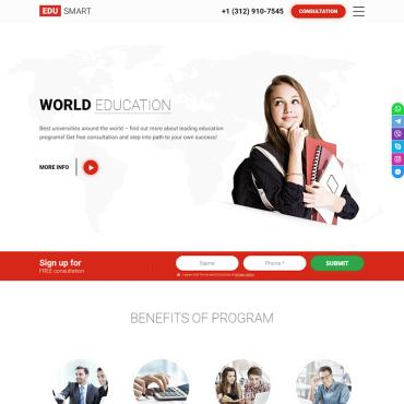 Landing Page Template # 80643