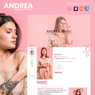 Landing Page Template # 80688