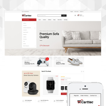 OpenCart Template # 80764