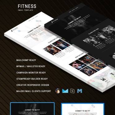 Newsletter Template # 80893