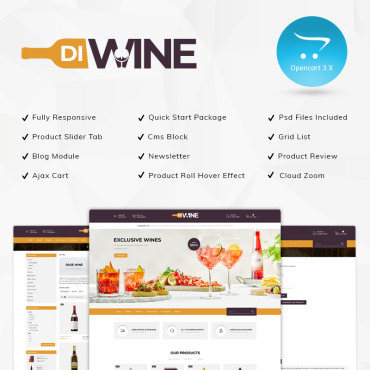 OpenCart Template # 80947