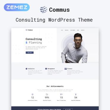 WordPress Theme # 81209