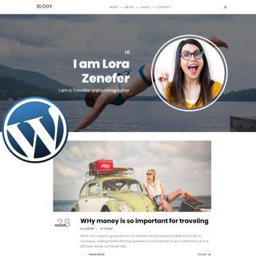 WordPress Theme # 81454