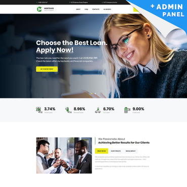 Landing Page Template # 82236