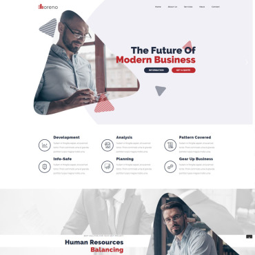 WordPress Theme # 82267