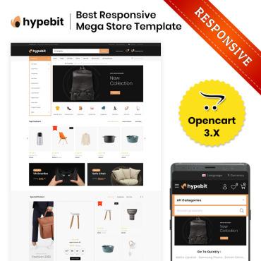 OpenCart Template # 83204