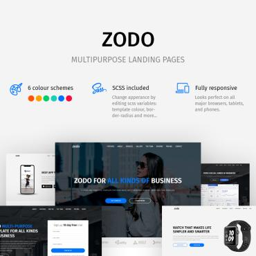 Landing Page Template # 83478