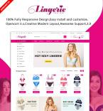 Lingerie Responsive OpenCart Template