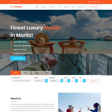 Template Turism HTML, JS şi CSS #100016