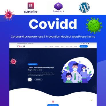 Template Medicină WordPress #100017