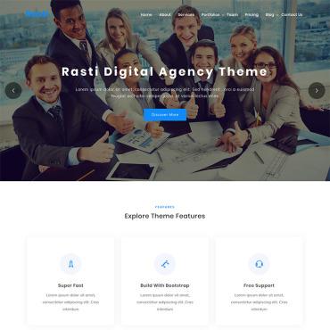 Template Afaceri WordPress #100096