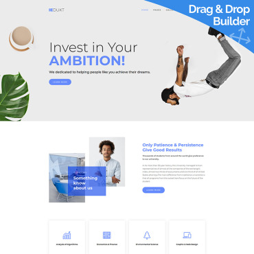 Website Template № 100098