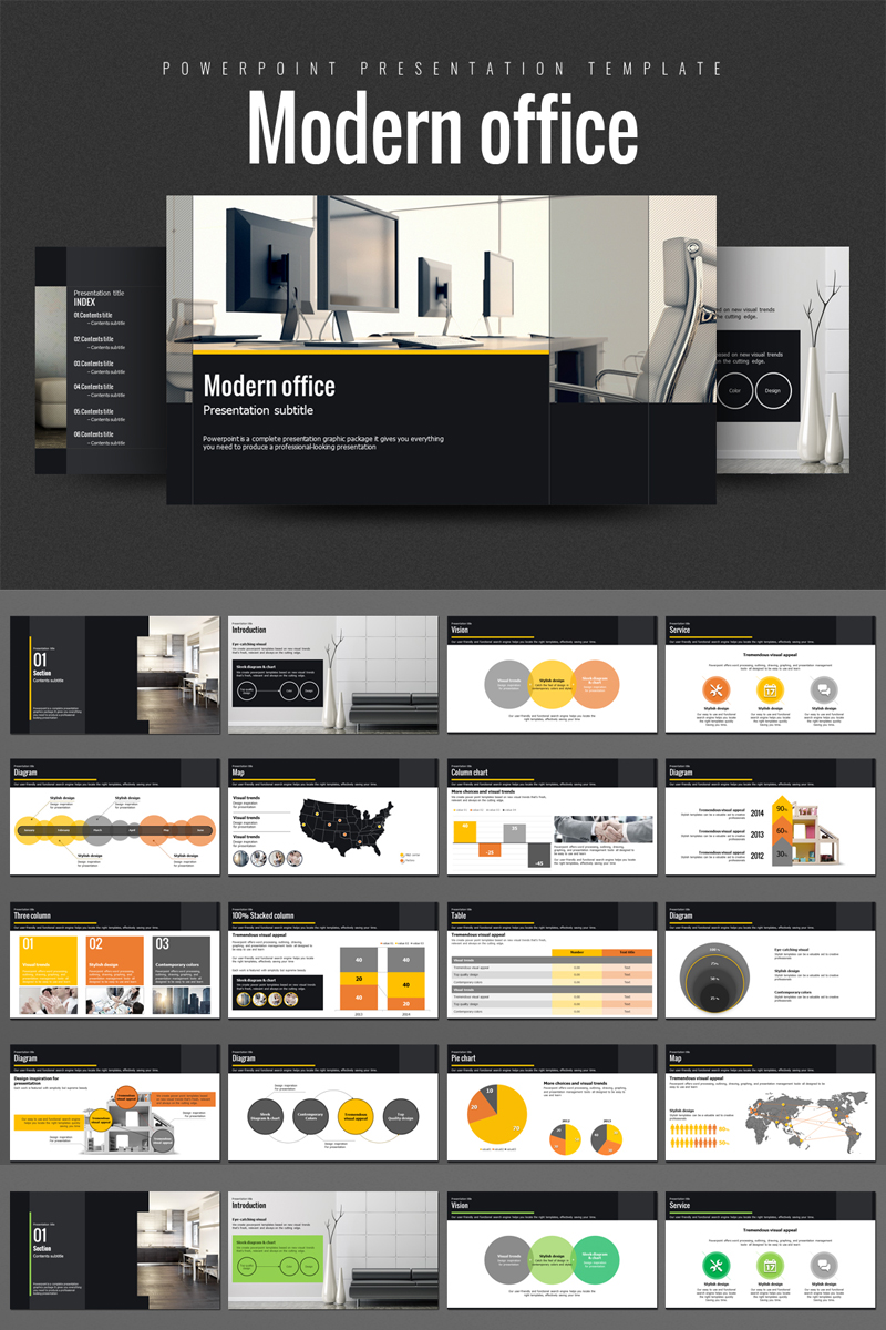 Modern Office PowerPoint Template