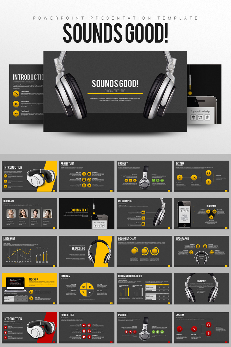 Sounds Good PowerPoint Template