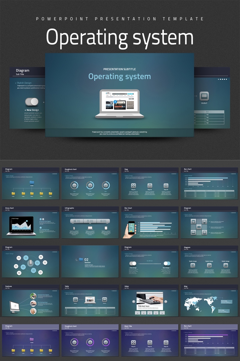 Operating system PowerPoint Template