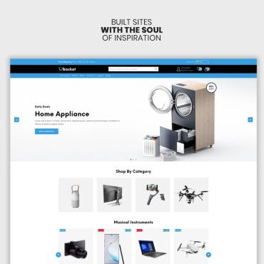 Website Template № 100144
