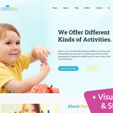 Website Template № 100150