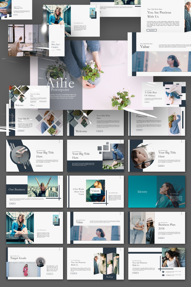 Ailie Presentation PowerPoint Template