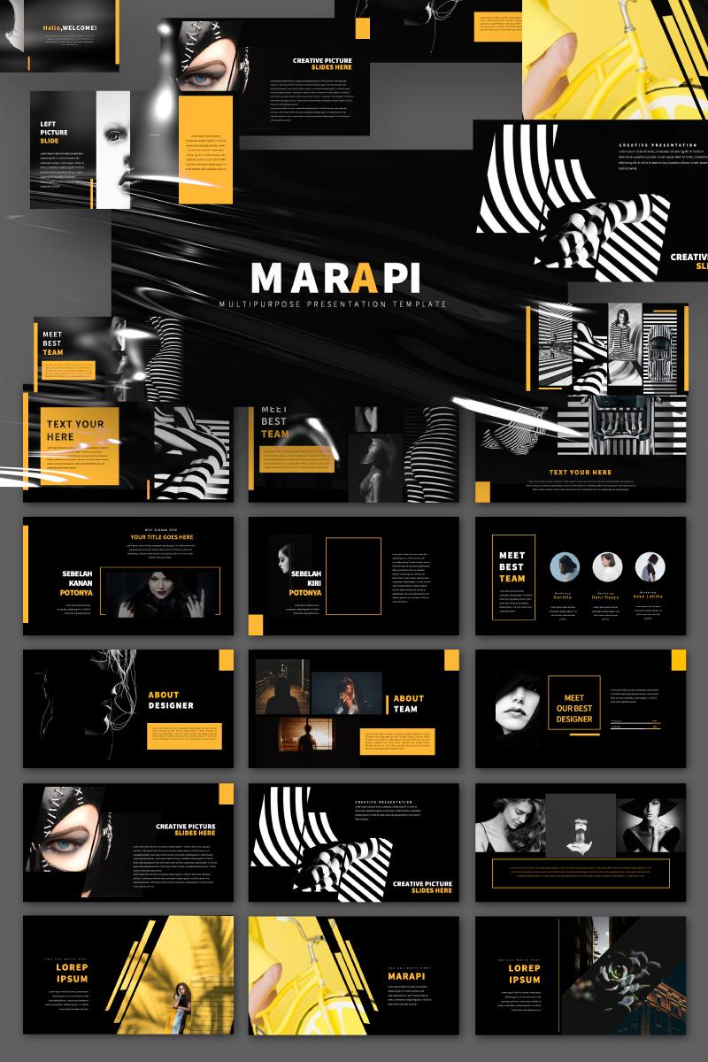 Marapi Presentation PowerPoint Template