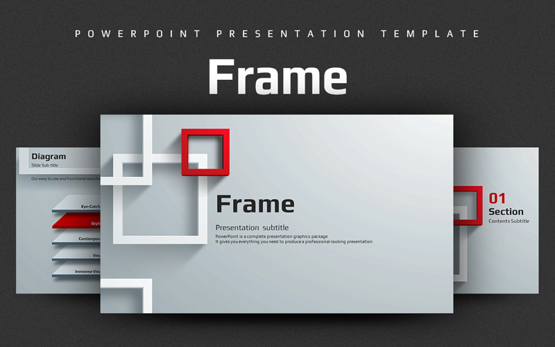 Frame PowerPoint Template
