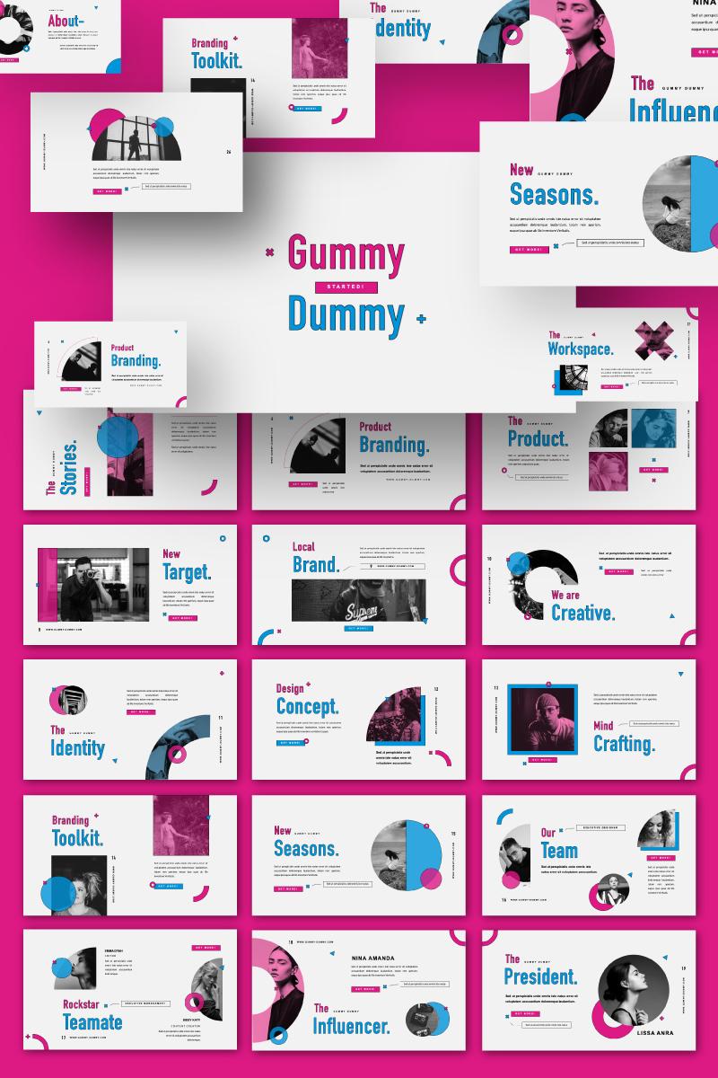 Gummy Dummy Presentation PowerPoint Template