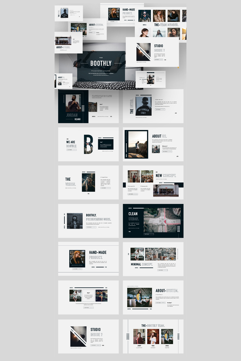 BOOTHLY PowerPoint Template