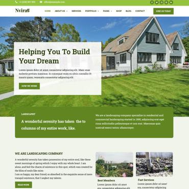 Template Afaceri WordPress #100360