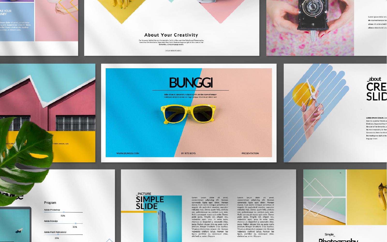 Bunggi Presentation PowerPoint Template