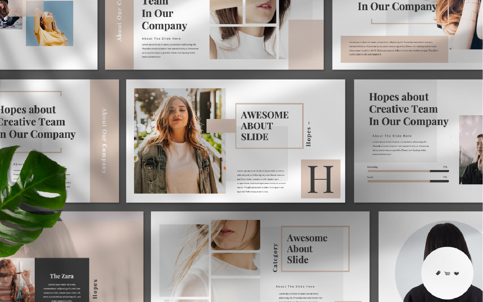 Hope Presentation PowerPoint Template