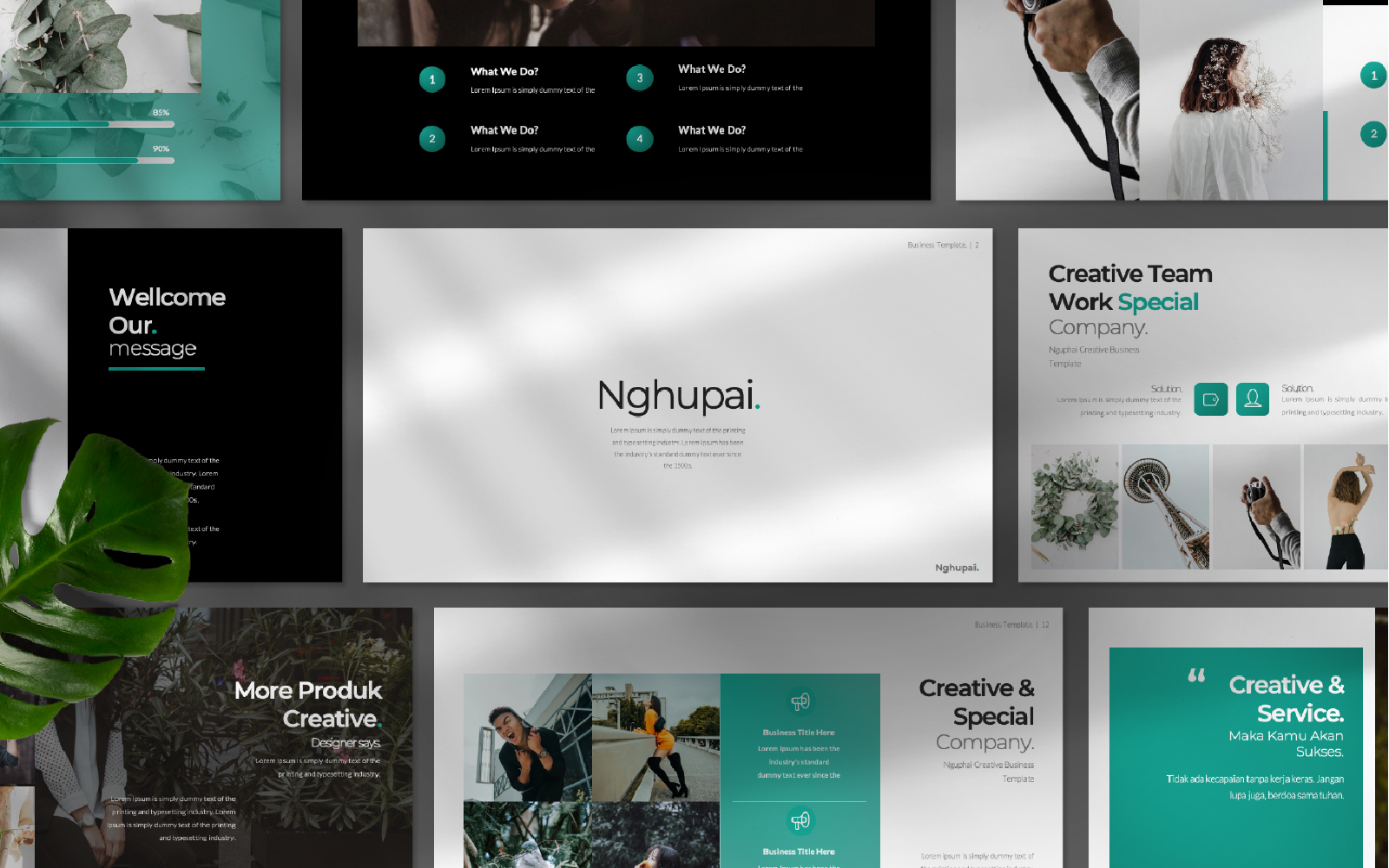 Nguphai Presentation PowerPoint Template
