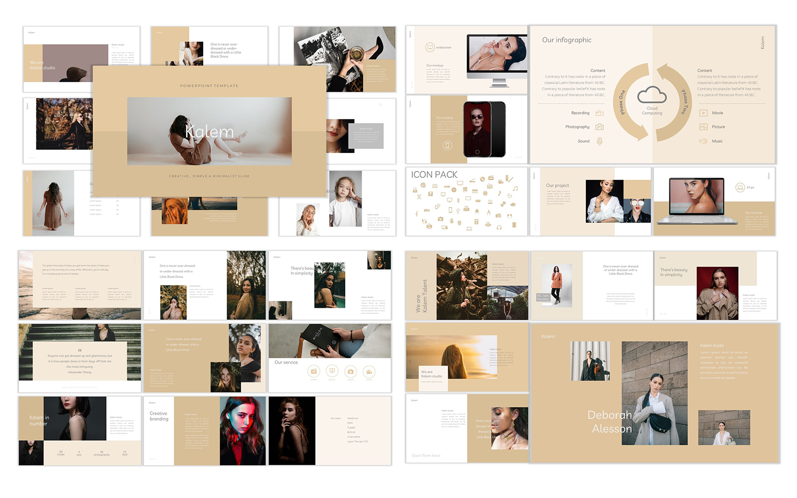 Kalem PowerPoint Template