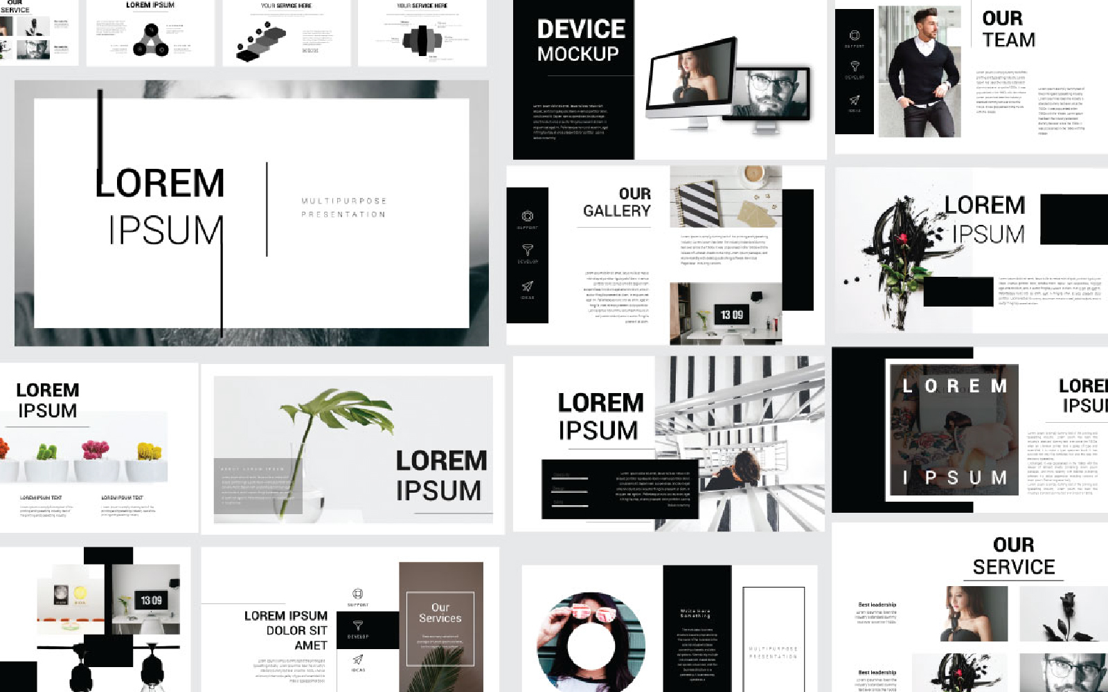 Lorem Ipsum Presentation PowerPoint Template