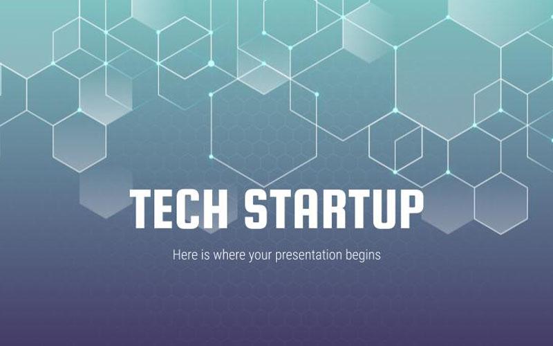 Tech Startup PowerPoint Template