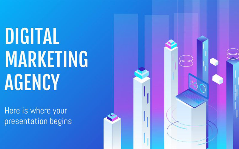 Digital Marketing Agency presentation PowerPoint Template