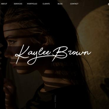 Website Template № 100518