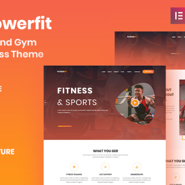 Website Template № 100525