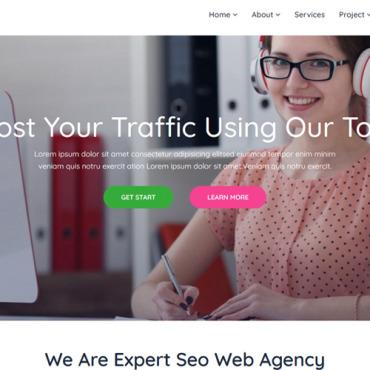 Template Afaceri HTML, JS şi CSS #100552