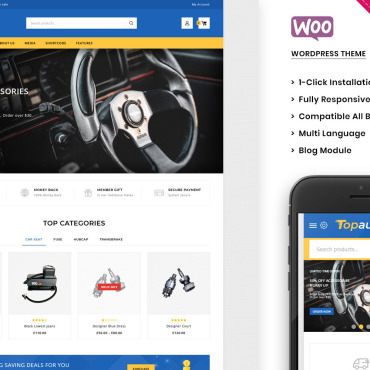 Template WooCommerce #100558