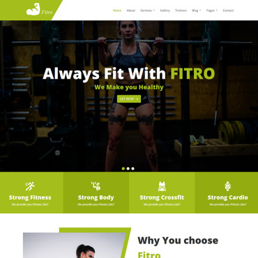 Website Template № 100561