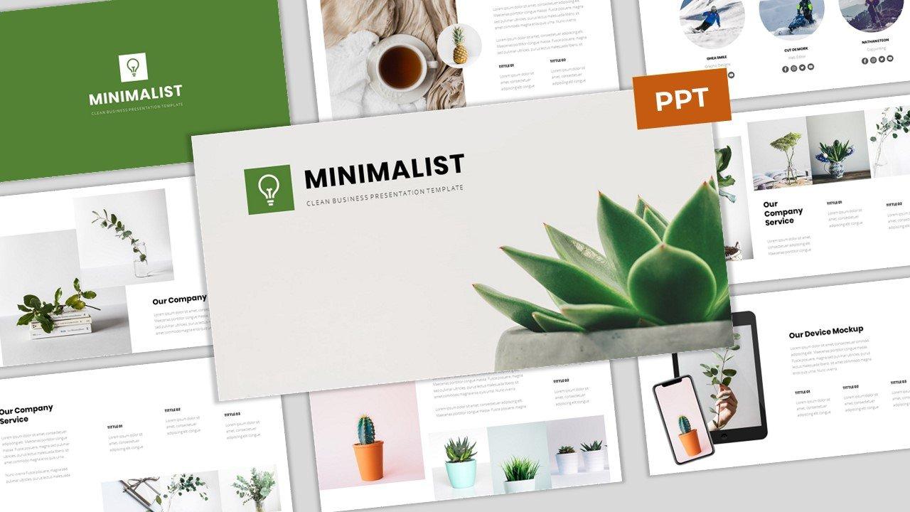 Minimalist - Clean Business PowerPoint Template